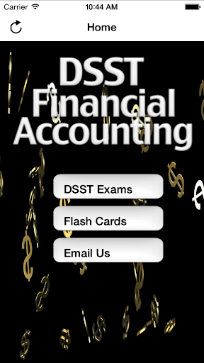 DSST Financial Accounting