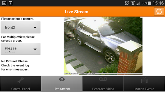 Mangocam Viewer- screenshot thumbnail