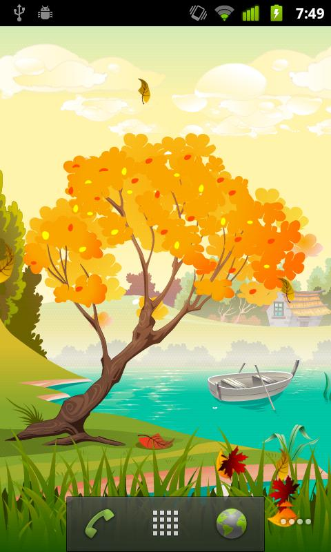 Seasons Spring Live Wallpaper - screenshot