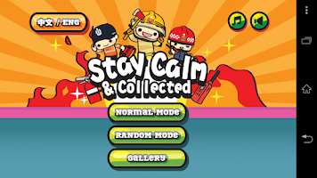 Screenshot of Stay Calm & Collected
