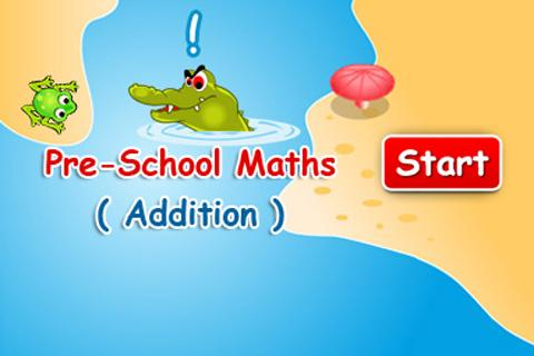 Pre -School Maths Addition
