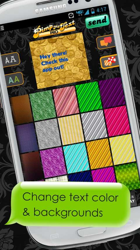 Pimp My Text Pro - Color text - screenshot