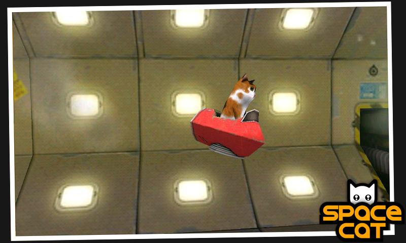 SpaceCat (3D) - screenshot