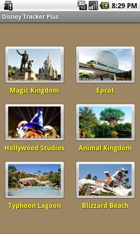 Disney Tracker Plus - screenshot