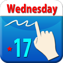 HandCalendar Free(Handwriting) icon