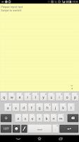 Screenshot of Techo Note (memo / notepad)