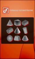 Screenshot of Geometric Formulas