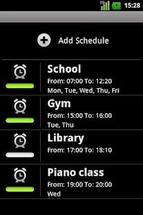 Silence Scheduler Free- screenshot thumbnail