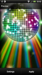 Disco Ball Live Wallpaper - screenshot thumbnail