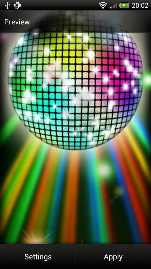 Disco Ball Live Wallpaper- screenshot