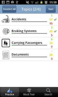 PCV Theory Test UK Lite - screenshot thumbnail