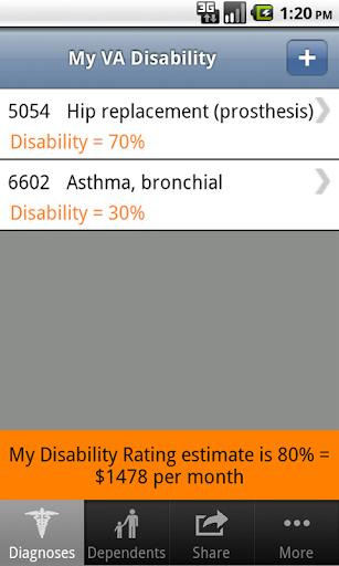 My VA Disability