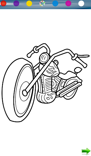 Coloring: Motorcycles
