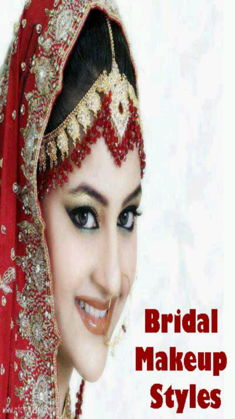Different Types Of Bridal Makeup : Bridal Makeup Styles - Android Apps on Google Play