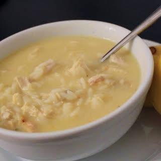 Greek Chicken Lemon Rice Soup Recipes.