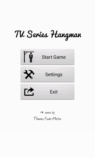 TV Series Hangman Free