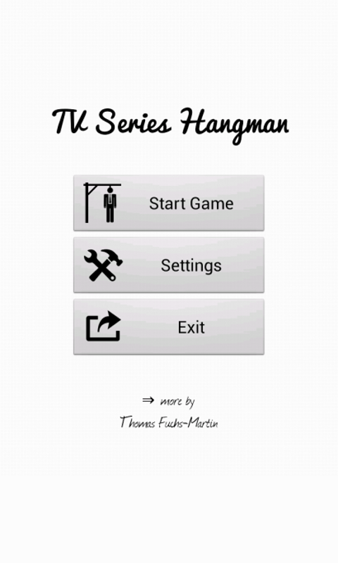 TV Series Hangman Free- screenshot