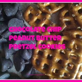Chocolate Chip Peanut Butter Pretzel Cookies