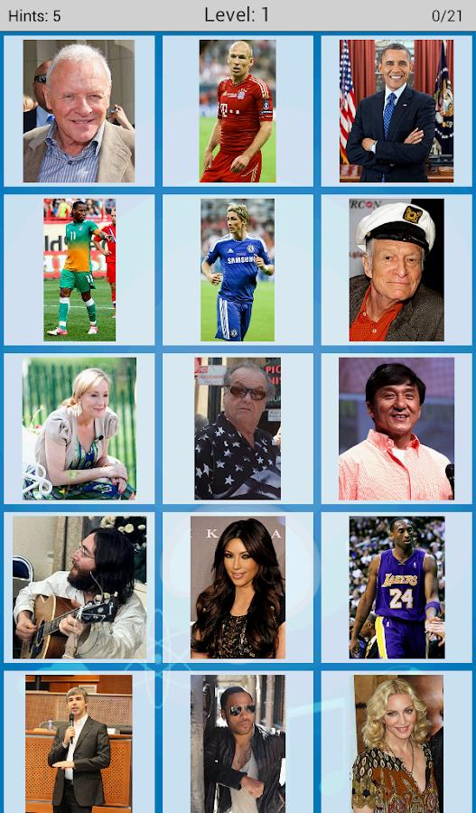 Logo Quiz - Famous People- screenshot