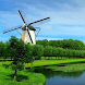 Windmill Village Live Wallpape