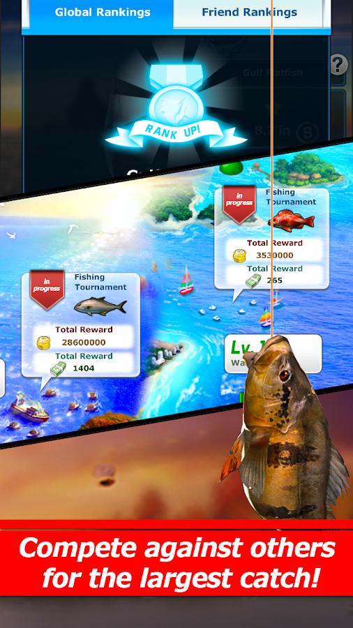 صور لعبة صيد الأسماك الرائعة للاندرويد Fishing: Wild