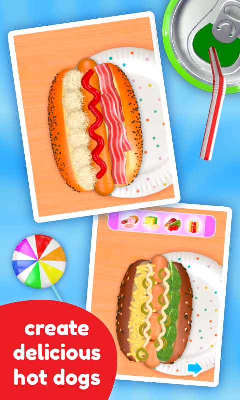 Cooking Game - Hot Dog Deluxe- screenshot