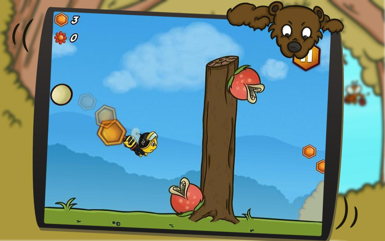 Bee Avenger HD FREE- screenshot
