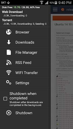zTorrent - Torrent Downloader