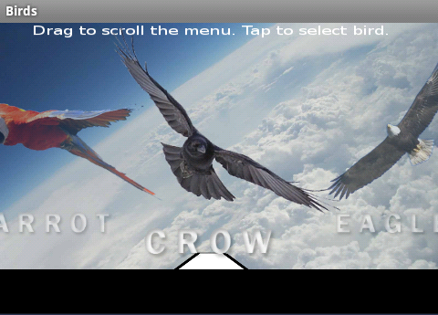 Birds - screenshot