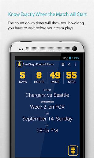 San Diego Football Alarm Pro