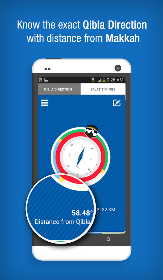 Qibla Connect - Find Direction - screenshot