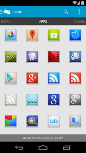 Lustre - Icon Pack - screenshot thumbnail