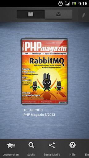 PHP Magazin für Android