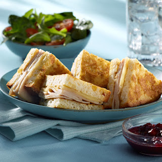 Udi's Gluten-Free Turkey & Swiss Baked Monte Cristo Sandwich