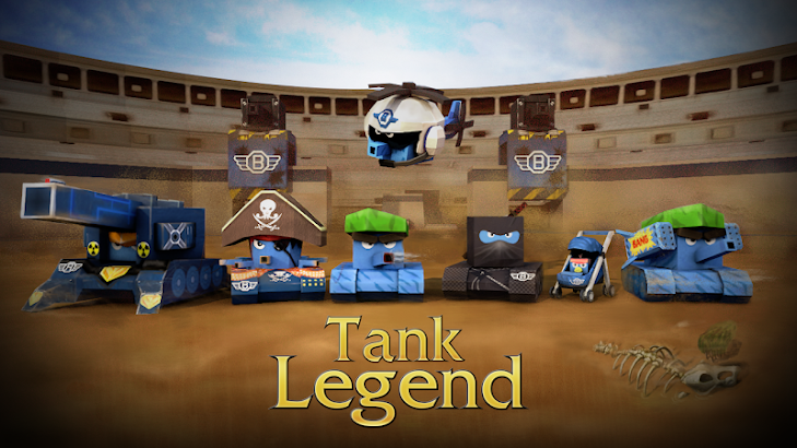 Tank Legend(legend of tanks) screenshot