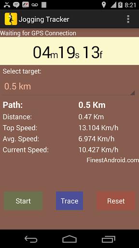 Jogging Tracker:運行的GPS