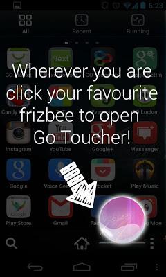 Pink Bubble Toucher Point - screenshot