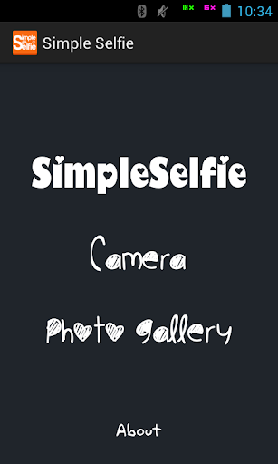 Simple Selfie Photo Editor
