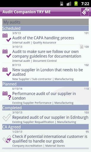 IFS Audit Companion