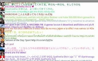 Screenshot of SlimyTwitterFall