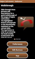 Screenshot of Reject Call Answer Free
