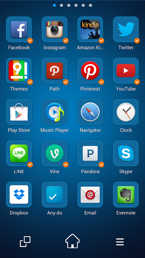 Nine Launcher Pro - screenshot
