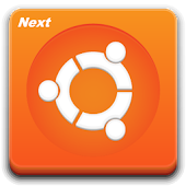 Next Launcher Theme Ubunty