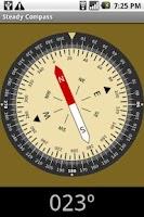 Screenshot of Steady compass