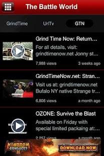 The Battle Rap App - screenshot thumbnail