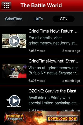 The Battle Rap App- screenshot