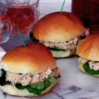 Deviled Ham Salad Sandwich.