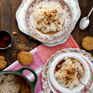 Maple Ginger Rice Pudding.