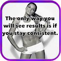 Bodybuilding Quote Inspiration icon