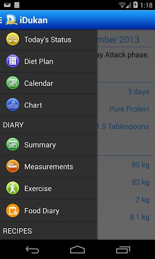iDukan Dukan Diet Tracker